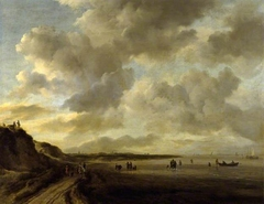 The Zuiderzee Coast near Muiden