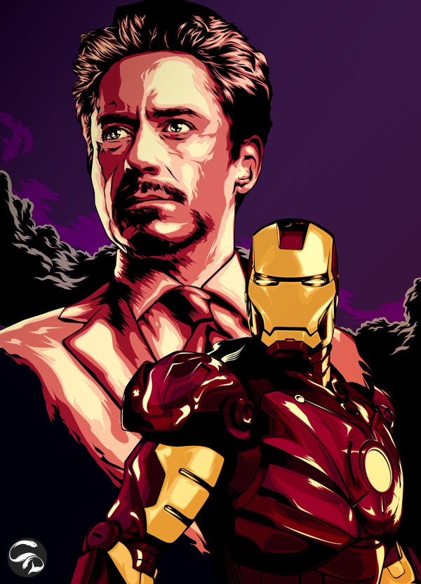 Tony Stark is IRONMAN