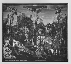 Triptych: Calvary, Carrying the cross, and Descent from the cross