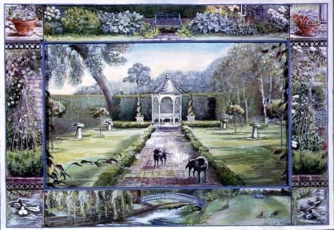 Turweston Mill Garden with Folly