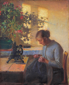 Sewing fisherman's wife
