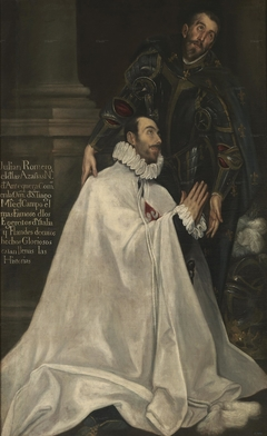 Julián Romero de las Azanas and his Patron Saint