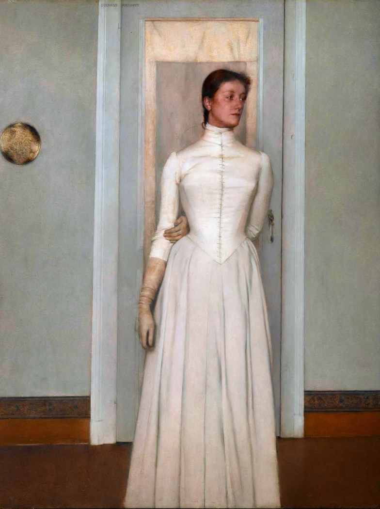 Portrait of Marguerite Khnopff