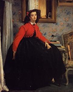 Portret van Mademoiselle L.L.