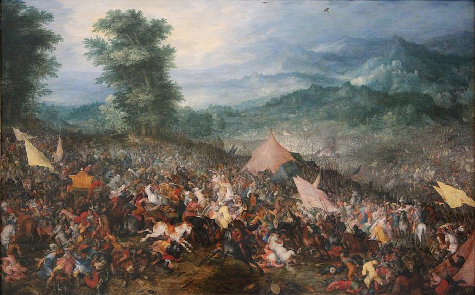 La bataille d'Issus