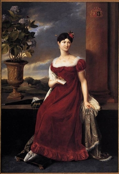 Portrait of Mary Lodge