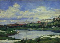 Várzea do Carmo e Rio Tamanduateí, 1858