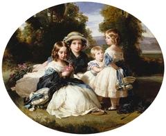 Victoria, Princess Royal, Princess Alice, Princess Helena, and Princess Louise