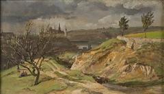 View of Meissen. Study
