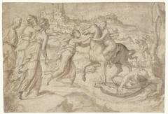 Vlucht van Cloelia uit het legerkamp van Porsenna