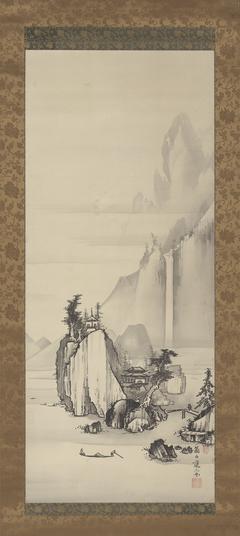 Waterfall in aLandscape