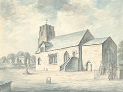 Whittington church and castle