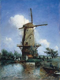 Windmill near Delft