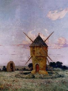 Windmill near Guérande