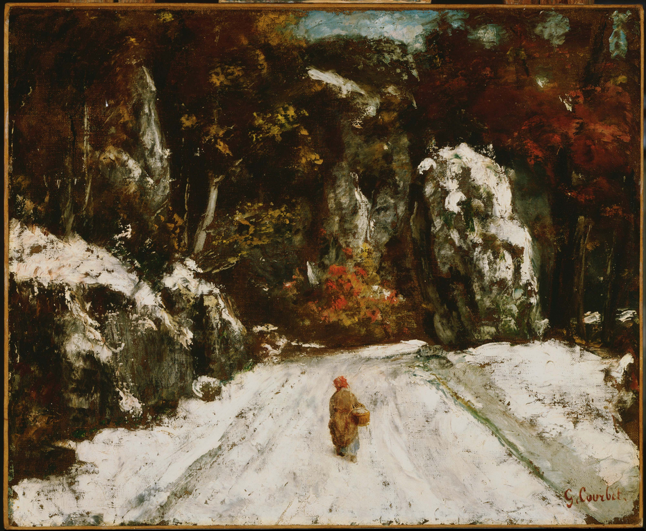 Winter in the Jura