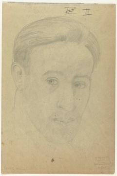 Zelfportret en face: B-1-1, 10 januari