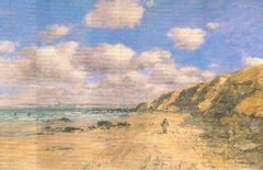 A Beach near Trouville