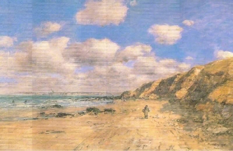 A Beach near Trouville