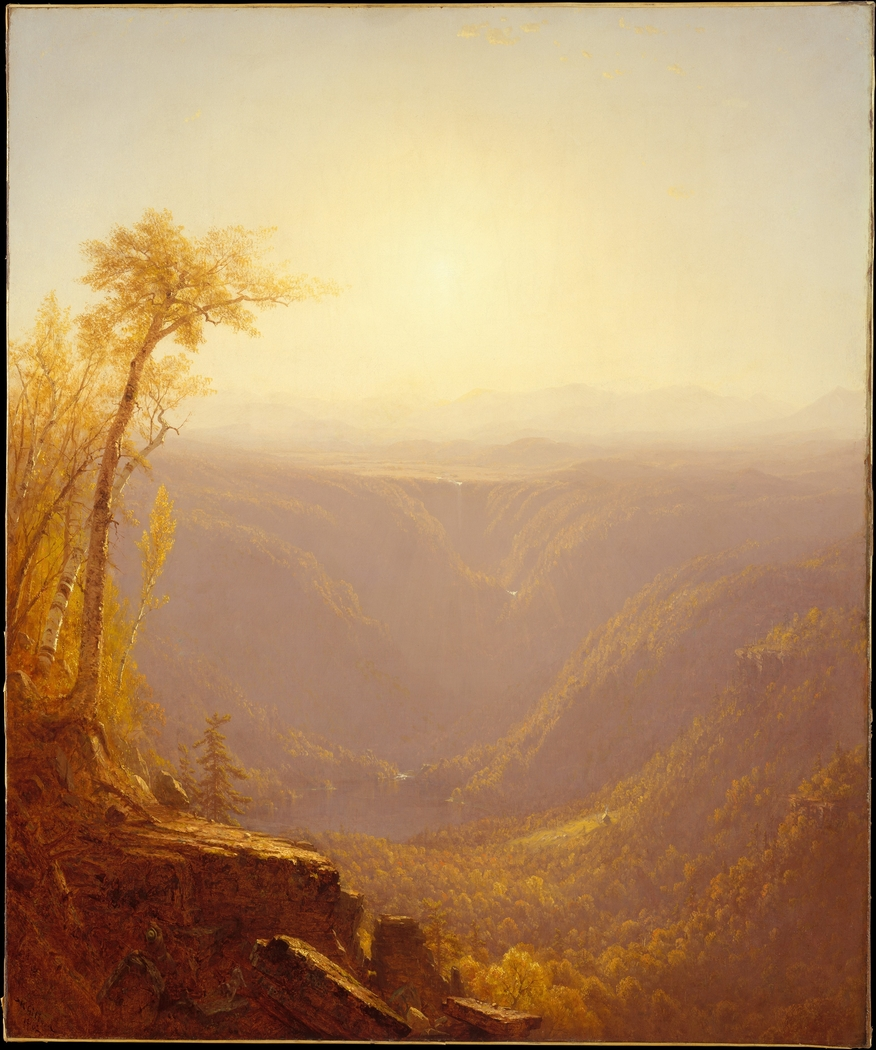 A Gorge in the Mountains (Kauterskill Clove)