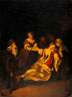 A Lady Fainting after Bloodletting