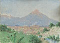 A View of Popocatépetl from Cuautla