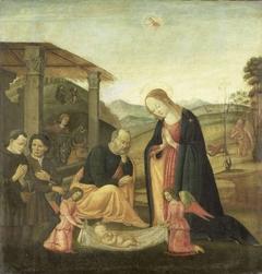 Adoration of the Christ Child