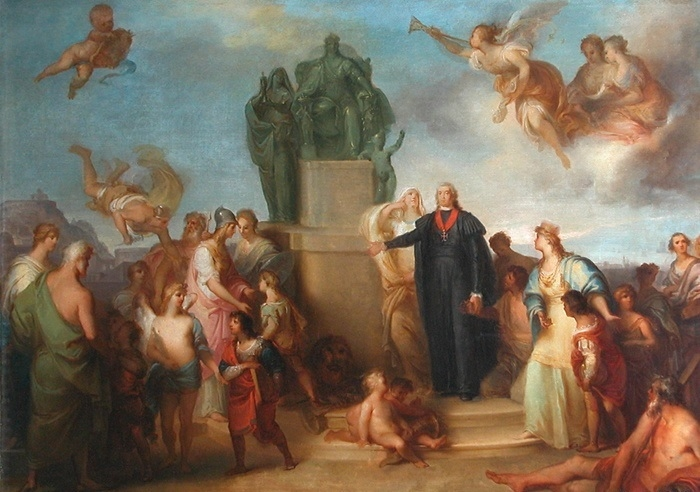 Allegory of the Creation of Casa Pia in Belém
