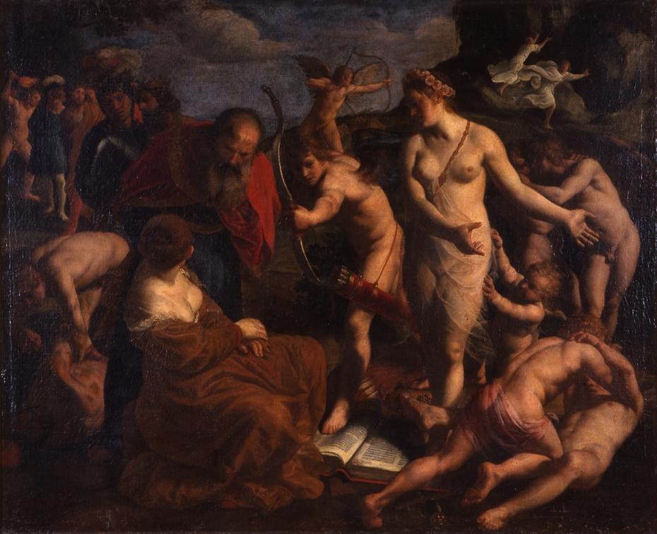 Allegory on the Power of Love ('Omnia Vincit Amor')