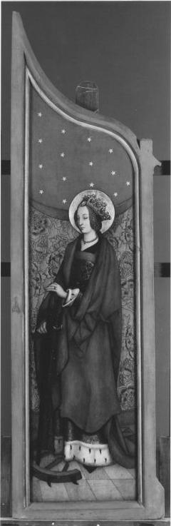 Altarflügel: Hl. Katharina (?)