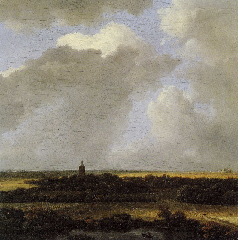 An Extensive Landscape with a View of Alkmaar
