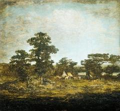 An Indian Encampment