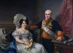 Antonio Ugarte and his wife Maria Antonia Larrazábal