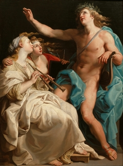 Apollo, Euterpe and Urania