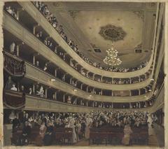 Auditorium of the old Burgtheater