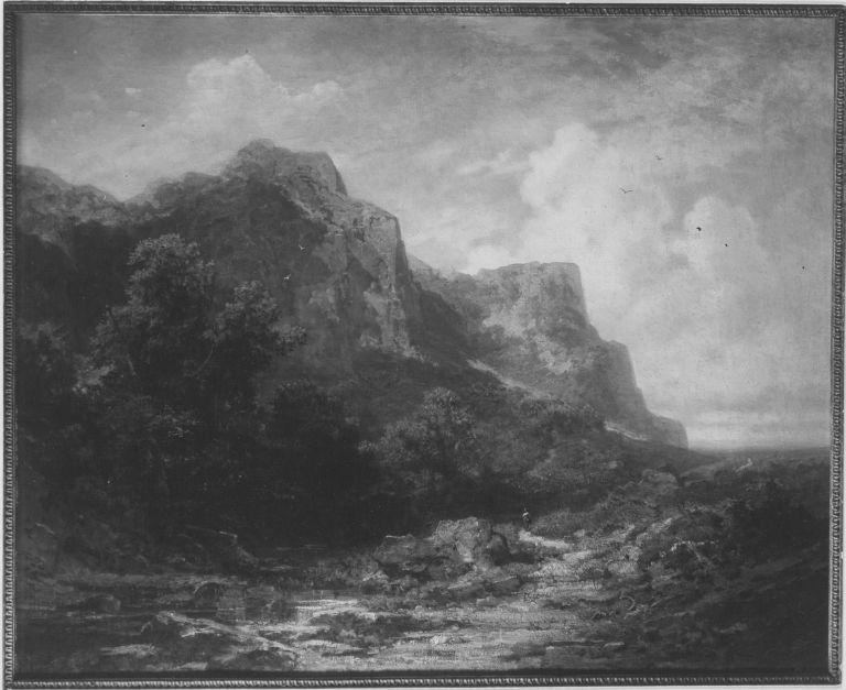 Bayerische Gebirgslandschaft