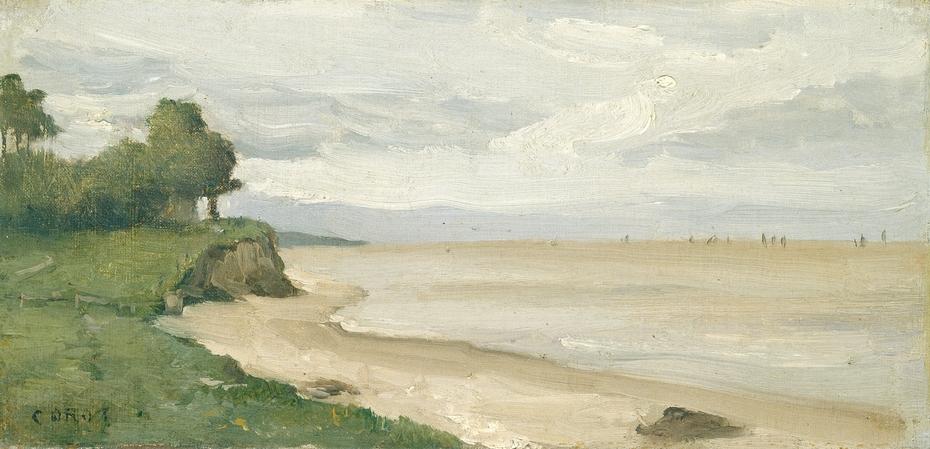 Beach near Etretat