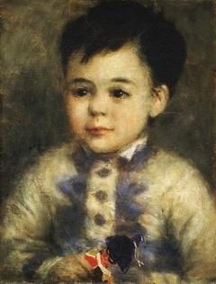Boy with a Toy Soldier (Portrait of Jean de La Pommeraye)