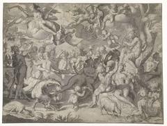 Bruiloft van Peleus en Thetis