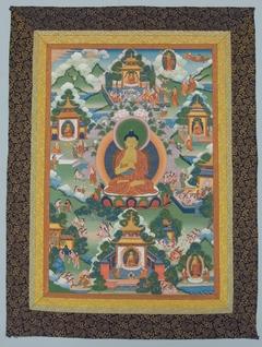 Buddha Seated on a Lotus Pedestal
