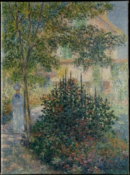 Camille Monet (1847–1879) in the Garden at Argenteuil