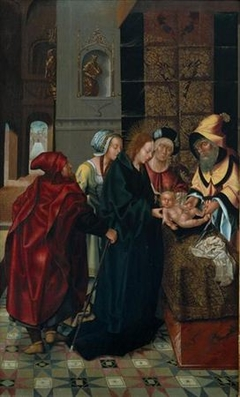 Circumcision of the Polyptych of the Main Chapel of the Cathedral of Viseu