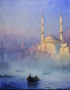 Constantinople, la mosquée de Top-Kahné