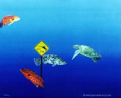 CROISEMENT DANGEREUX - Dangerous crossing - by Pascal