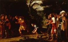 De wedloop tussen Atalante en Hippomenes