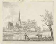 De Wiel achter de kerk van Raamsdonk
