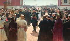 Delegation of voigts before Alexander III