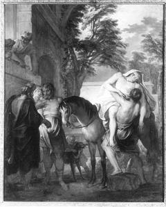 Der barmherzige Samariter (zugeschrieben)