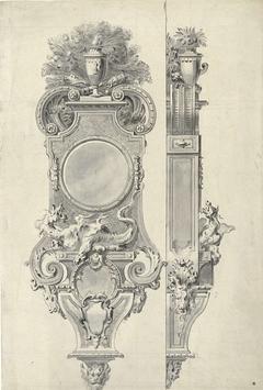Design for a clock-case