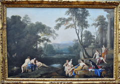 Diana and Her Nymphs in a Landscape