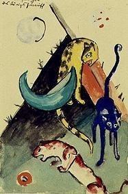 Die 3 Panther des Königs Jussuff